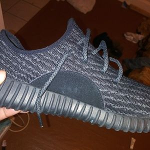 93f64ef5e9bc3 adidas · Adidas Yeezy boost 350 low black pirate black
